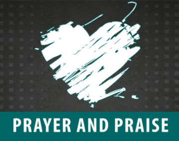 Share your Praise Report or Prayer Request! It's our pleasure to agree and rejoice with you!