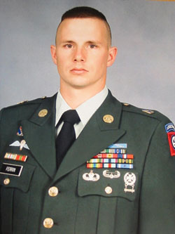 SFC Clint D. Ferrin                December 24, 1972 - March 13, 2004