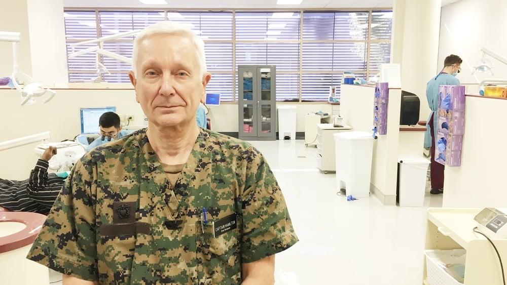 Dr. Richard Hamilton DDS, MS, OMS Oral Surgeon |US Navy, Ret.