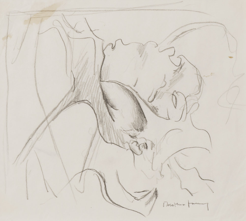 Sketch for Flagrantis speculum veneris (Loveknot), 1997