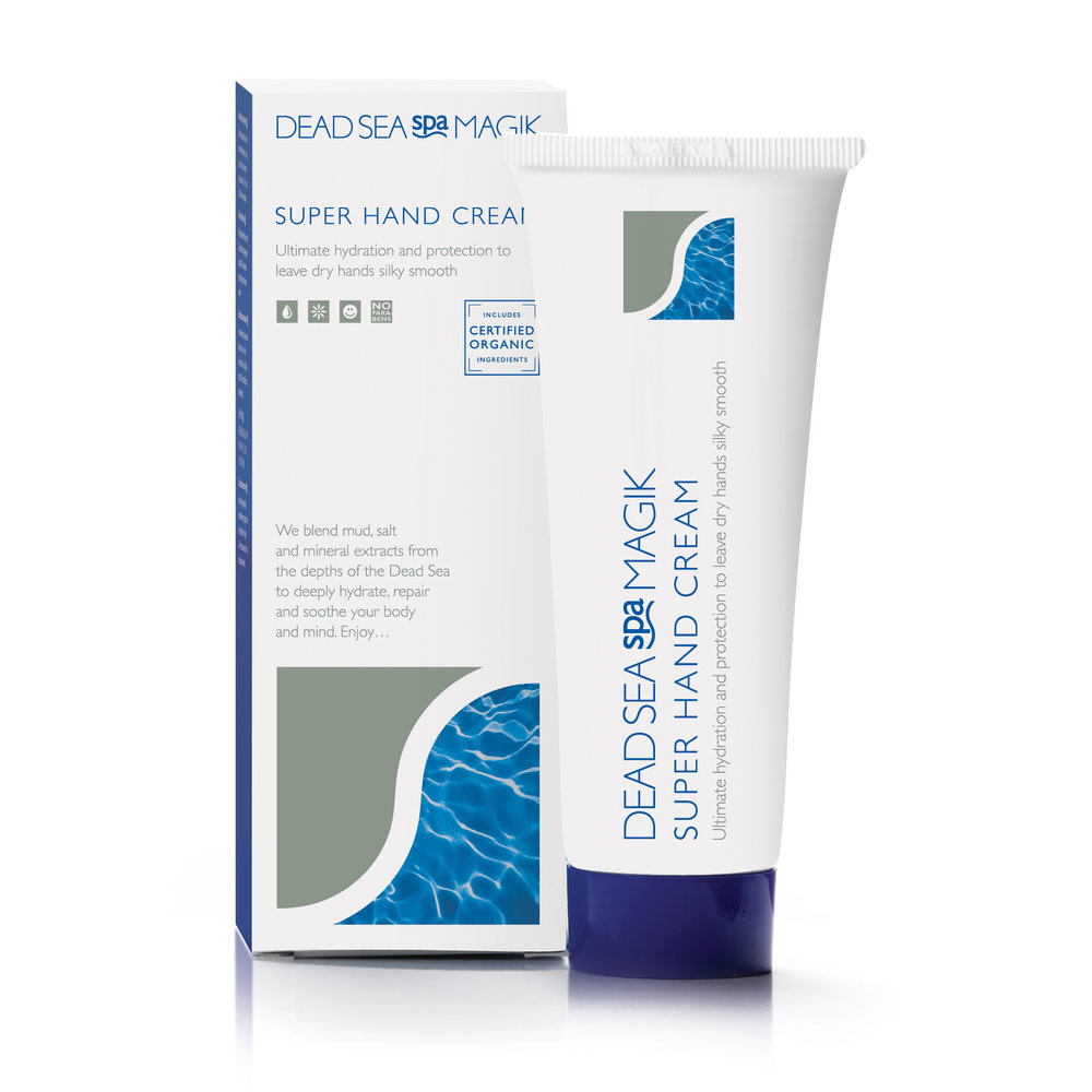 Super Hand Cream provides intense hydration for dry or chapped hands. Apply regularly to provide protection from the elements and other irritants such as detergents. The skin-friendly formula can help to reduce the discomfort caused     from   psoriasis,   dermatitis   and eczema with regular application.   Activity     of the sweat glands is also reduced therefore can help to control damp palms.