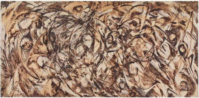 Lee Krasner, The Eye is the First Circle, 1960 (Image courtesy of ArtStack)