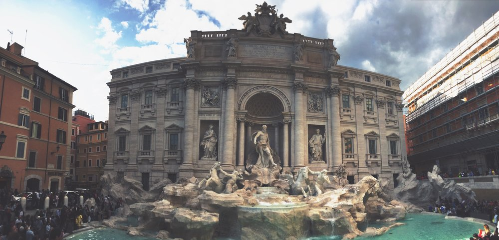 Trevi Fountain, 2016.