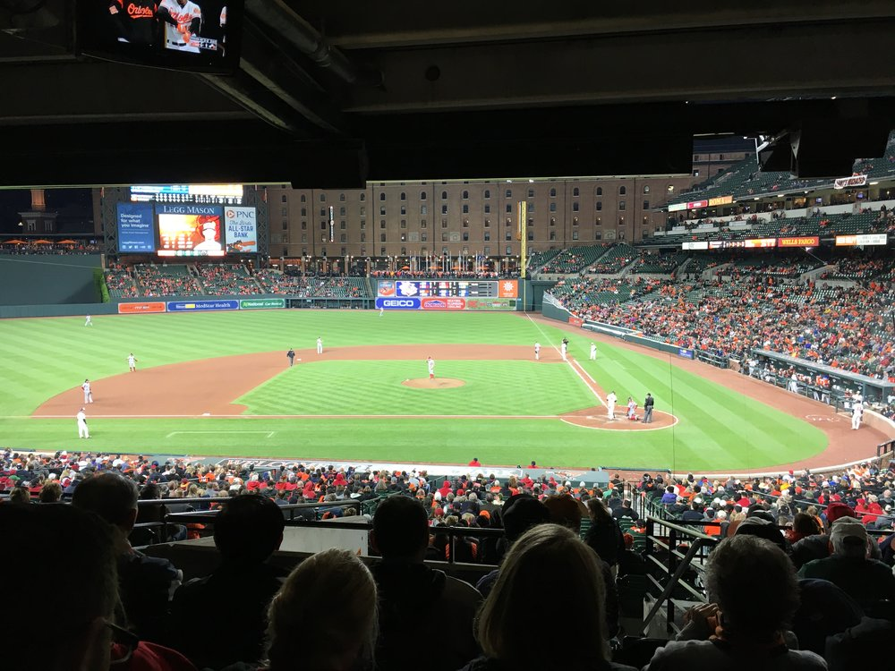 5.) Camden Yards and my O's. Taken from great seats obtained by my sister. Missing this staple of my summer.