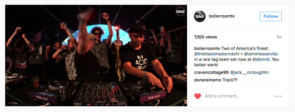 Boiler Room Dekmantel // Mike Servito wears Japanese ACID tee   https://www.instagram.com/p/BIxu2-Fj8ZA/   > 7000 (instagram) views. Boiler Room archive will be out in (about) a week