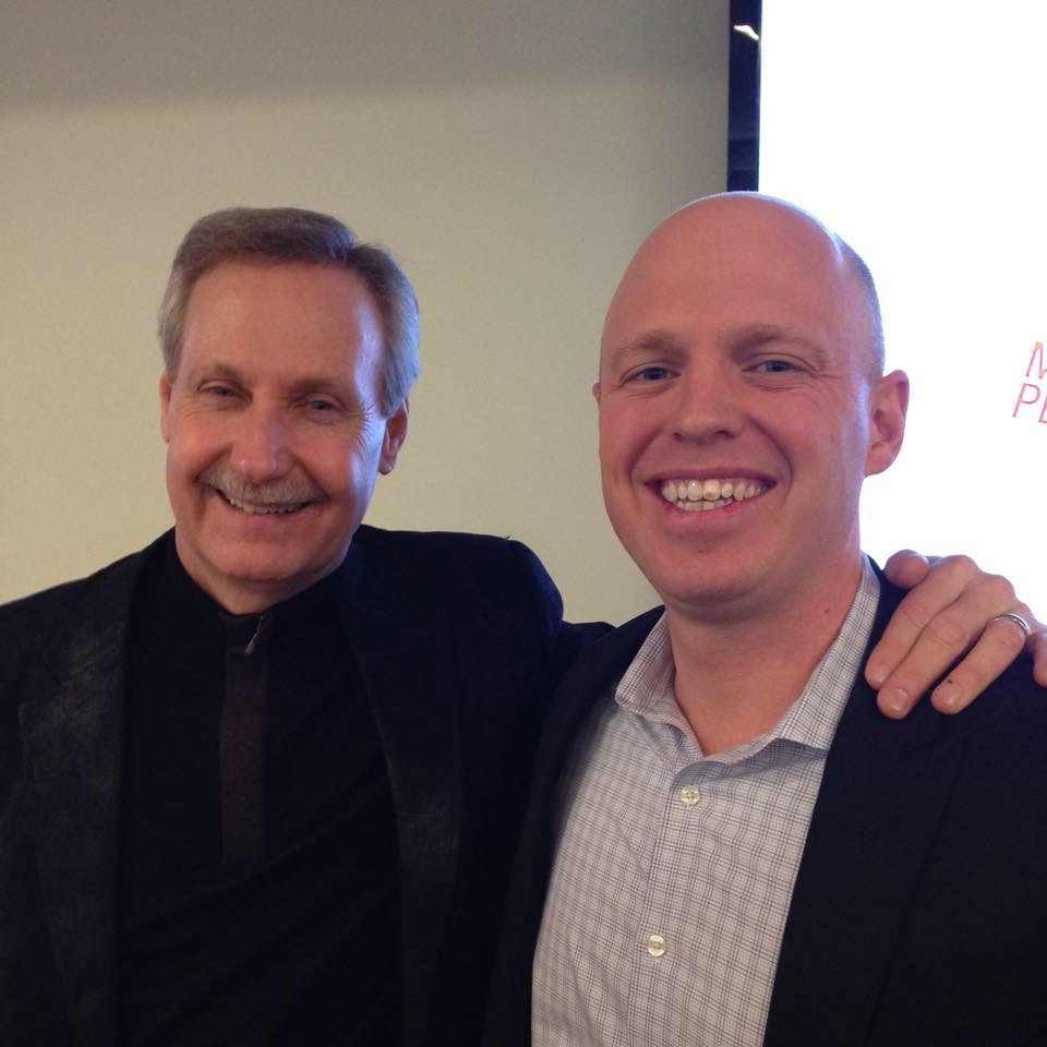 Sean Goerss , CEO and Founder of 14 Moves, with Gary Keller, founder and owner of Keller Williams, the largest brokerage in North America. Sean is part of Gary's