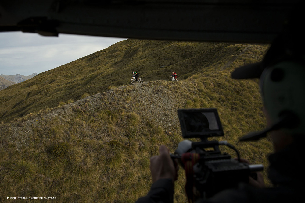 Andrew Shandro and Rene Wildhaber near Queenstown, New Zealand.