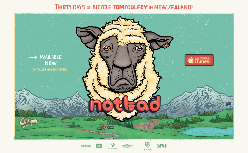 NotBad - Thirty Days of Tomfoolery in New Zealand