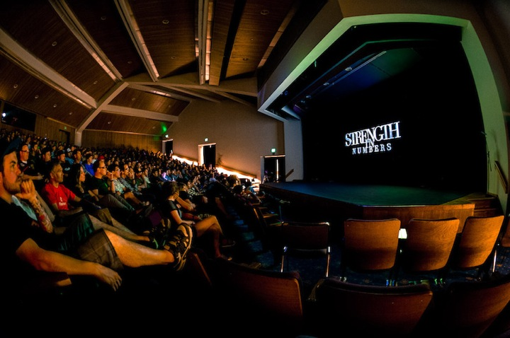 Strength in Numbers movie premier in Monterey