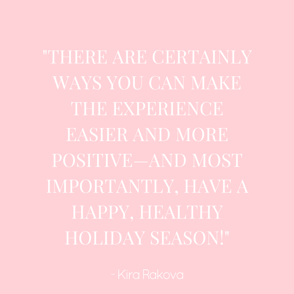 4 Tips for Managing Triggers During the Holidays - by Kira Rakova via the NEDA blog