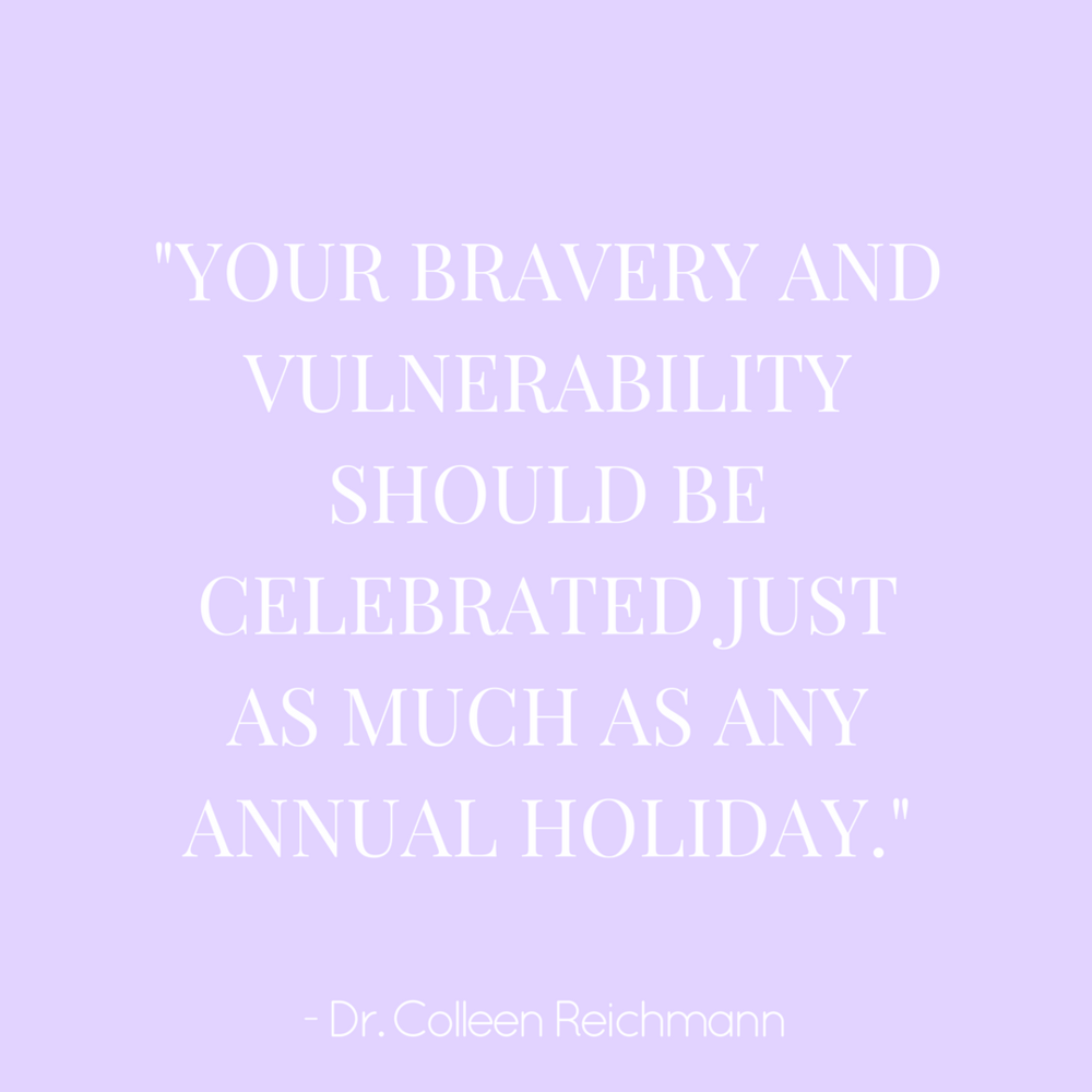 Starting Treatment During the Holidays? Read This First  - by Dr. Colleen Reichmann via Recovery Warriors