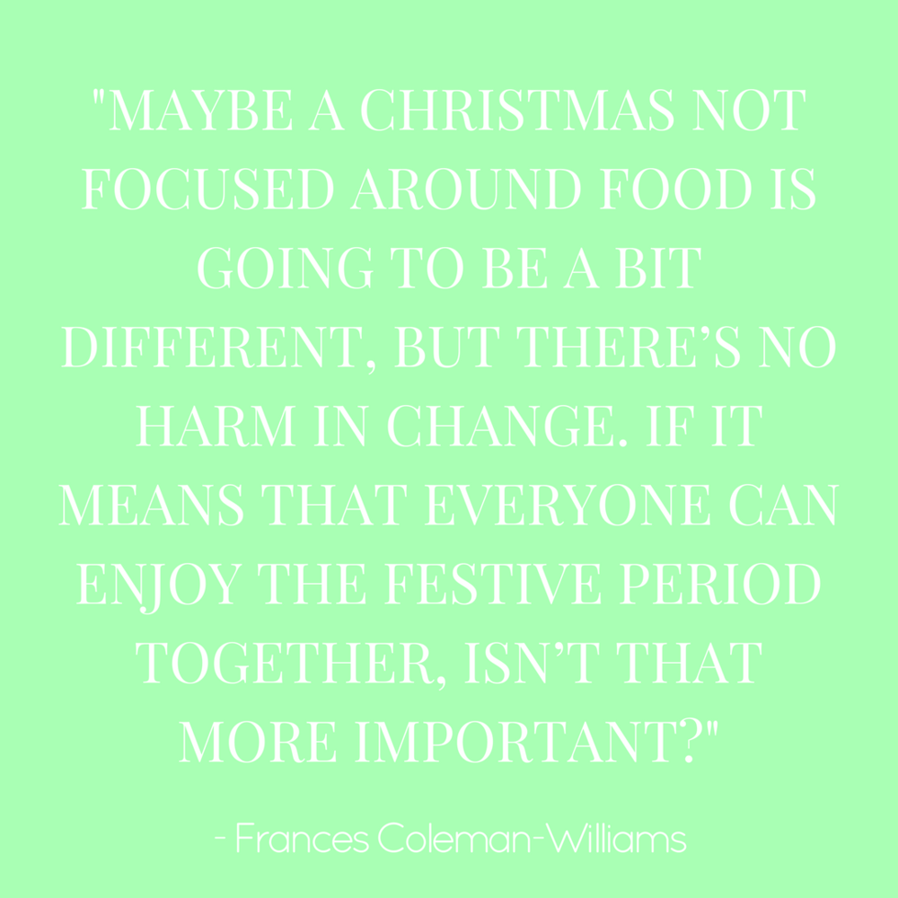 Here's How to Support Someone with an Eating Disorder at Christmas - by Frances Coleman-Williams