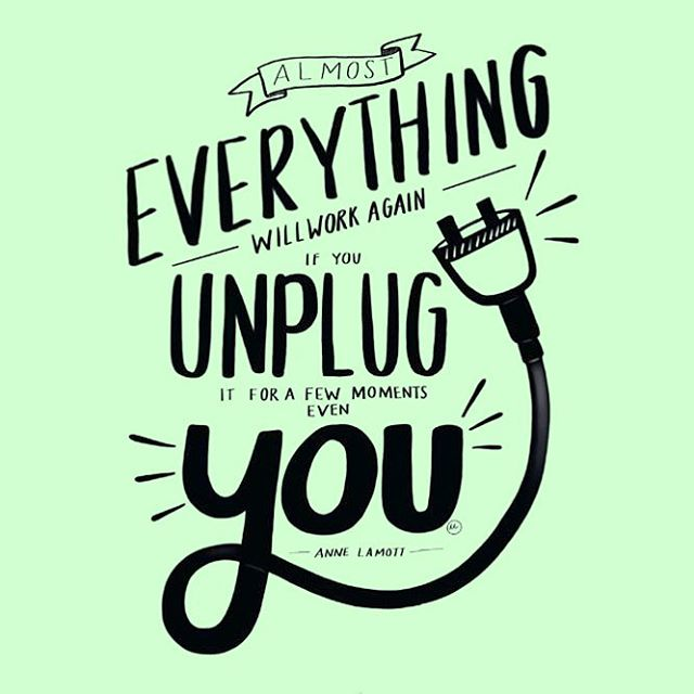 The #weekend is here! Friendly reminder from BALANCE to make time to #unplug, #relax & #destress👆💆‍♀️🔌💆‍♂️#selfcare #edrecovery