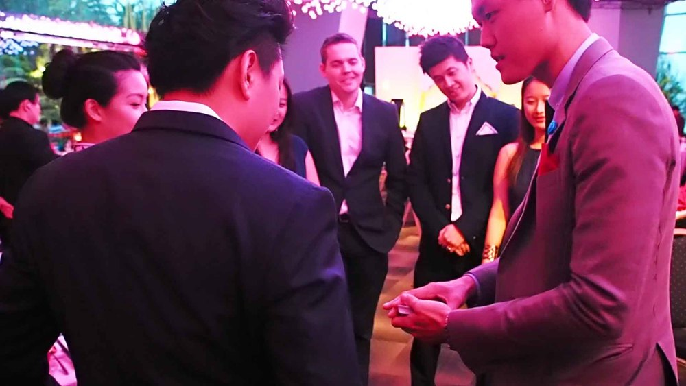 Magician Singapore for Weddings