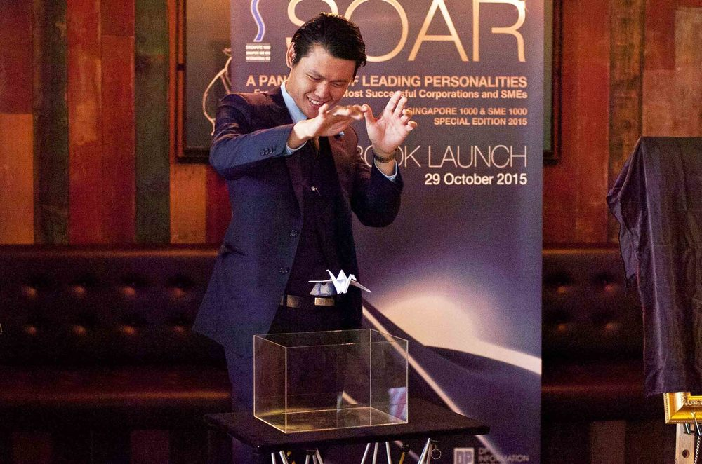 Alexander Yuen Magic Product Launch