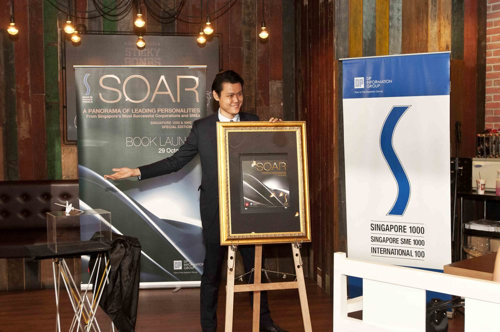 SOAR Book Launch by Illusionist Alexander Yuen