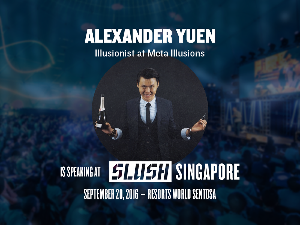 Slush 2016 iPad Magician Illusionist