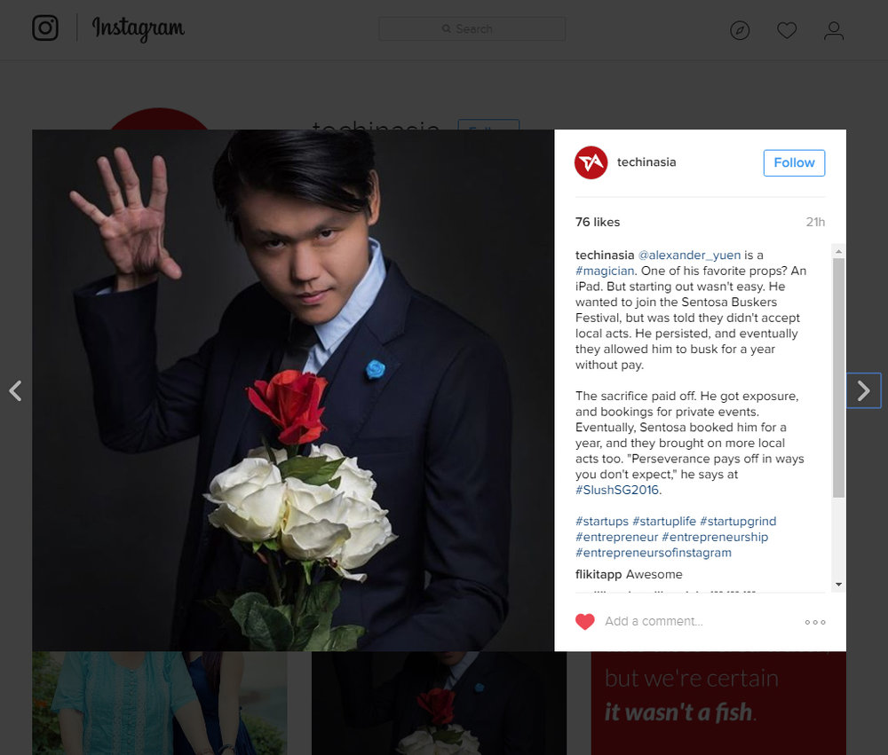 Alexander Yuen iPad Magician