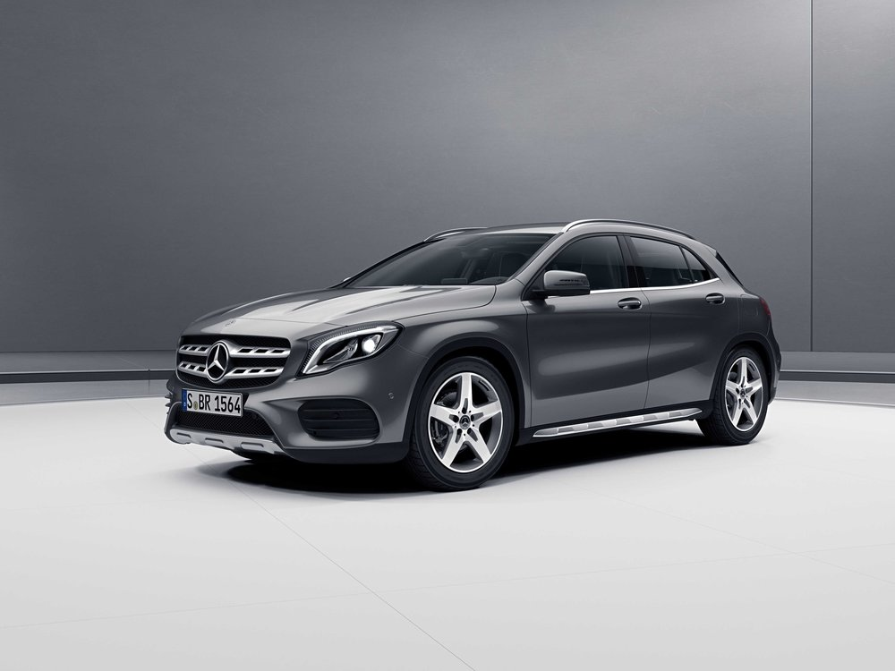 the new GLA mercedes benz