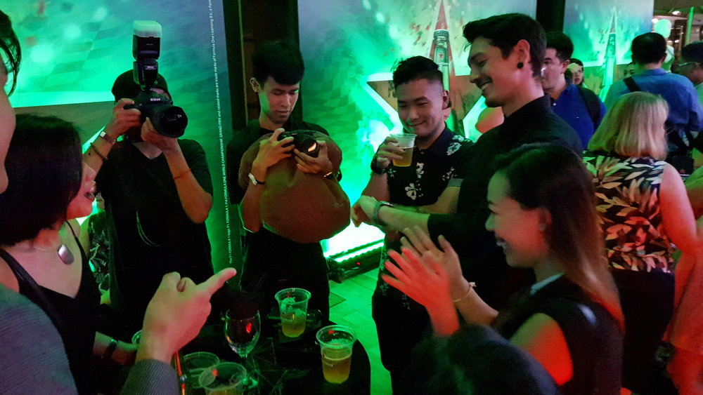 Heineken iPad Magician