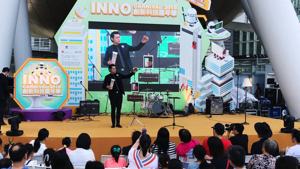 iPad Magician Hong Kong Asia