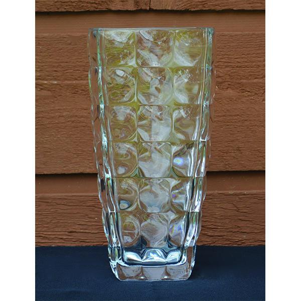 Crystal Squared Mod Vase