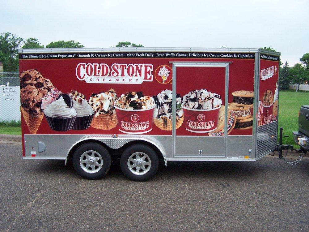 Trailer Wrap Coldstone