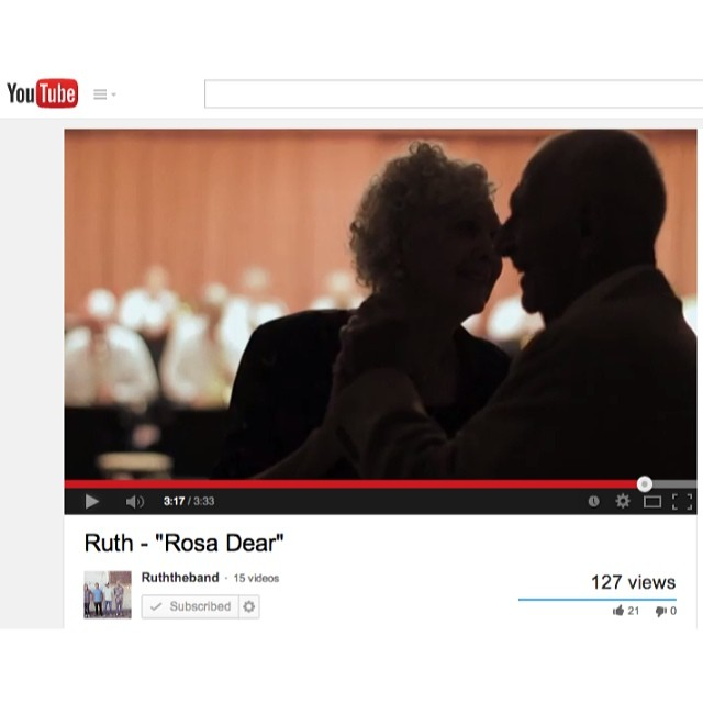 "Love stories are good stories. New music video for ""Rosa Dear"" off album Voilà is up now! YouTube.com/RuthTheBand"