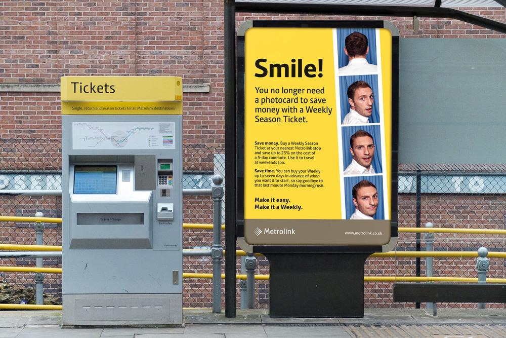 6-sheet Tram Stop Poster