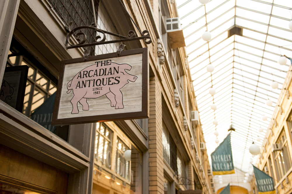 Ann Arbor State Street District Arcadian Antiques
