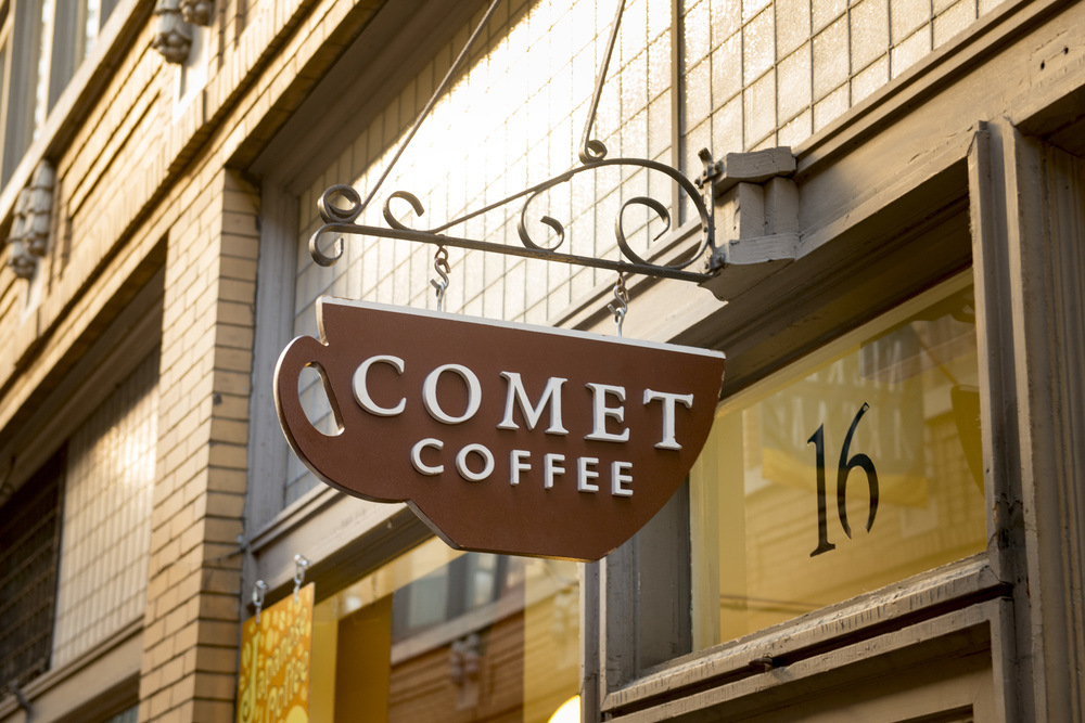 Ann Arbor State Street District Comet Coffee