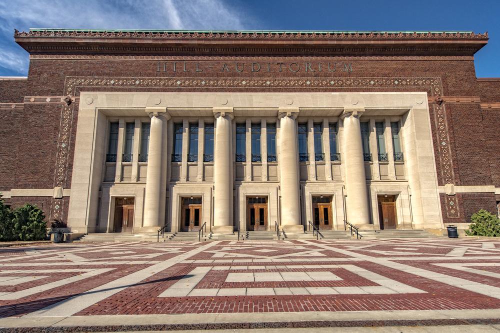 Ann Arbor State Street District Hill Auditorium