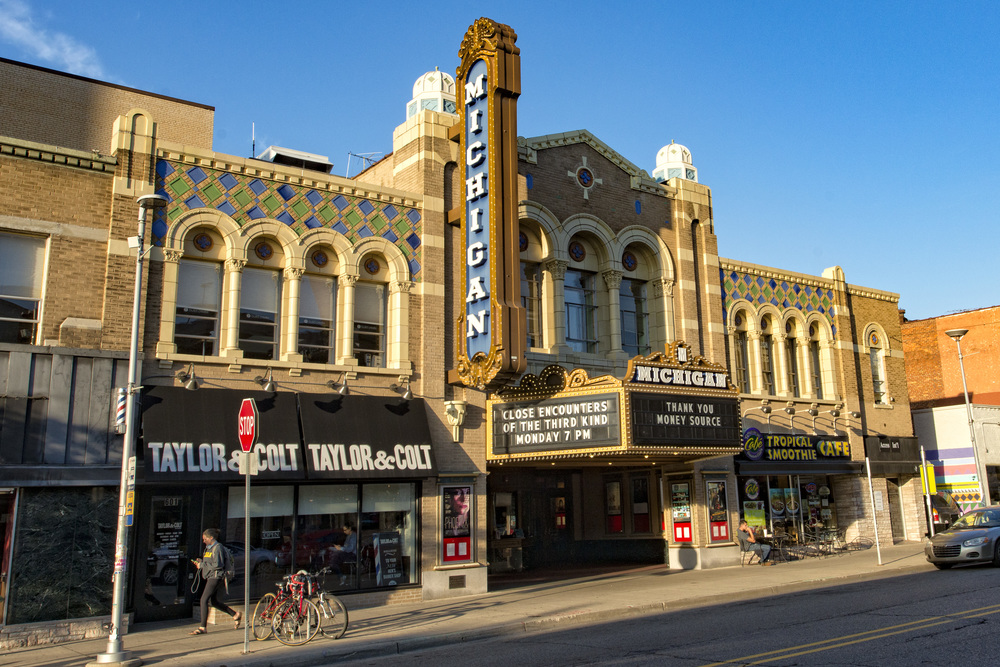 Ann Arbor State Street District Michigan Theatre