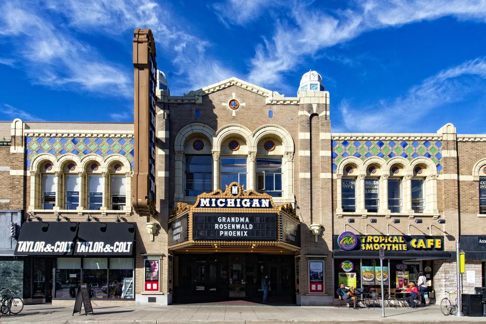 Ann Arbor State Street District Michigan Theatre