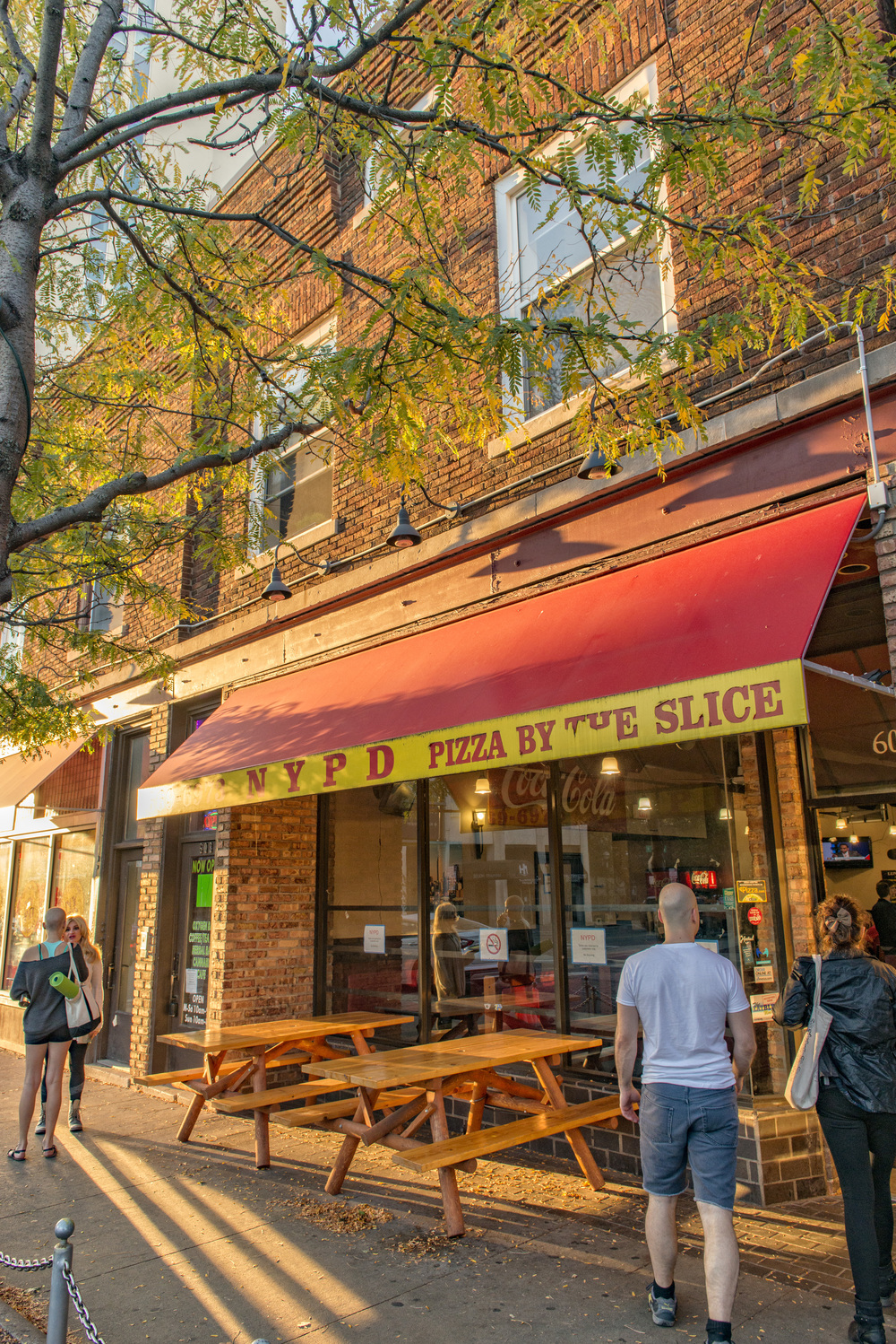 Ann Arbor State Street District NYPD Pizza