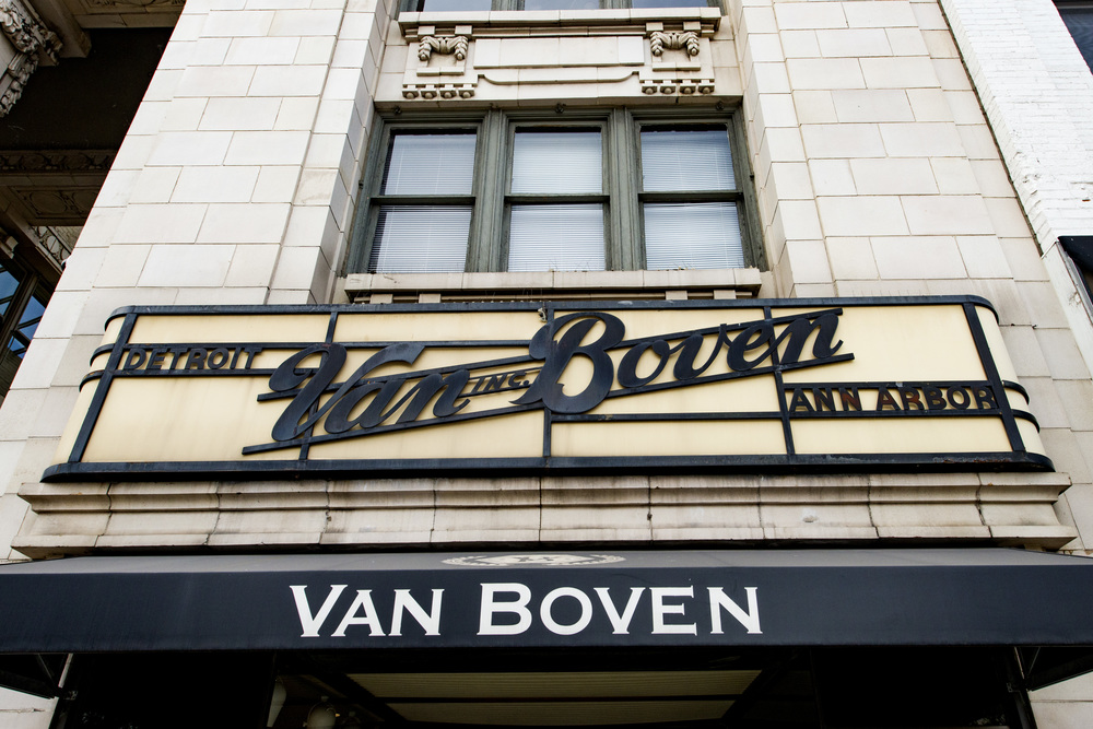 Ann Arbor State Street District Van Boven