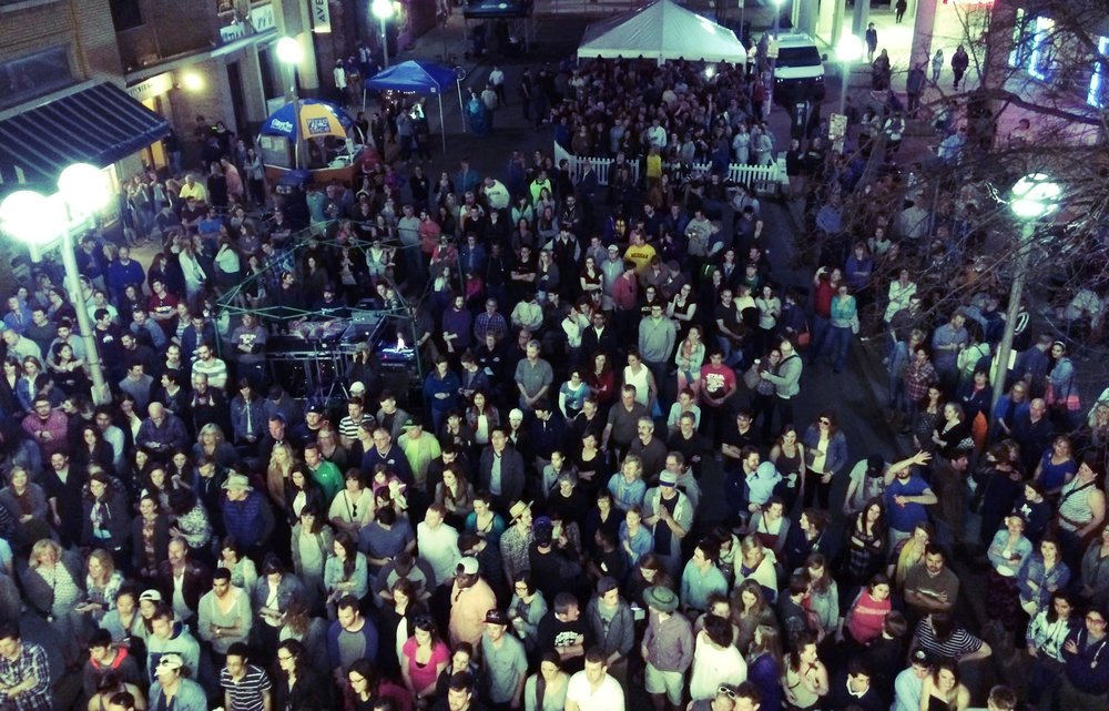Last year's inaugural 'Rock The District' drew in over 3,000 music fans to downtown Ann Arbor