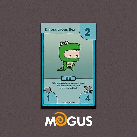 My personal favourite @mogusofficial card so far! #ccg #tcg #collectablecardgame #tradingcardgame