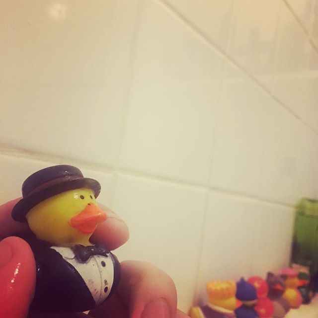 I have an admittedly bizarre collection of rubber ducks... #rubberduck
