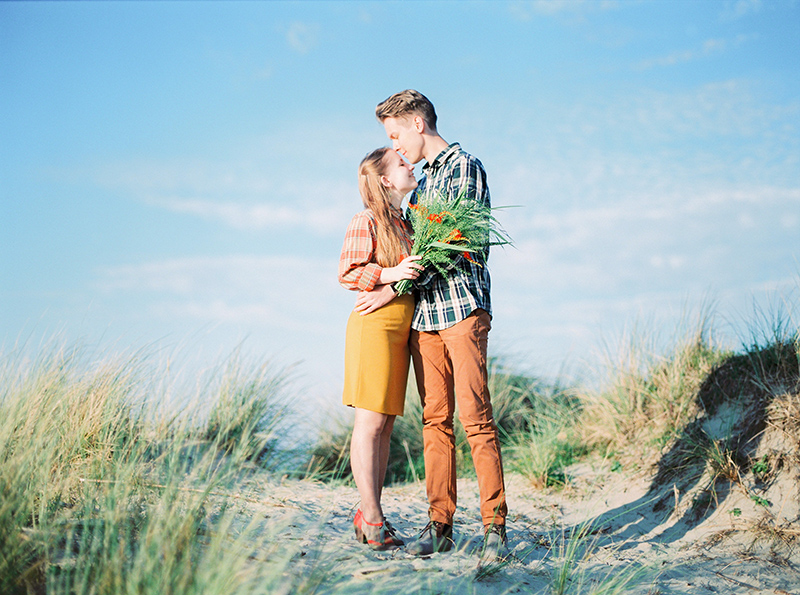 Romantic Loveshoot at the North Sea, Belgium / Shooting de couple romantique à la Mer du Nord, Belgique