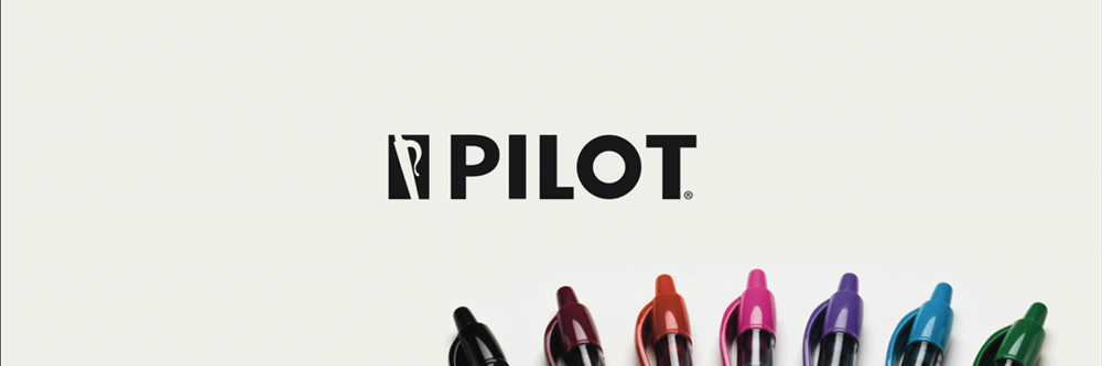 Pilot Pens Rebrand
