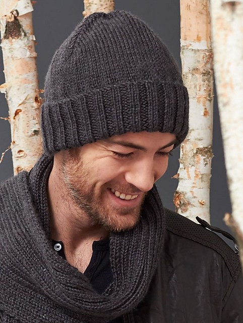 Mens Basic Hat And Scarf Set Make Give Repeat