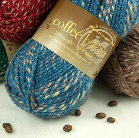 Coffee Beenz by @plymouthyarn is one of our recommended yarns for the Send Cheer drive. 15% off at @nobleknits to support us! Details at link in profile 👉🏼 #mgrsendcheer