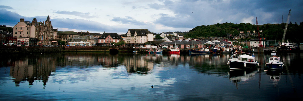 Ann visited Oban en route to the Hebrides before she knew of the whisky. What a missed opportunity!