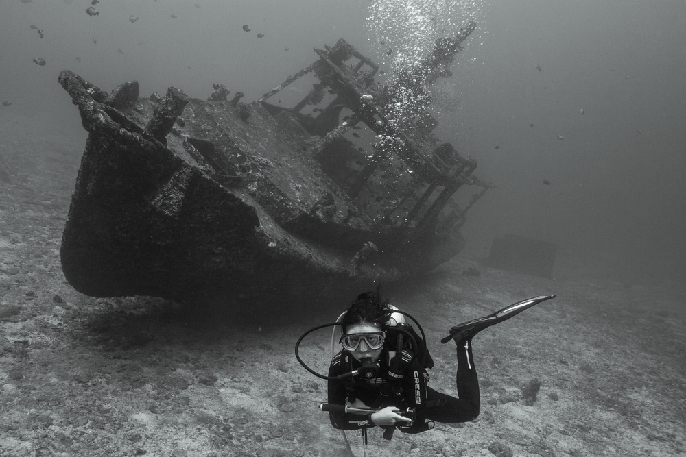 The wreck at Jepun