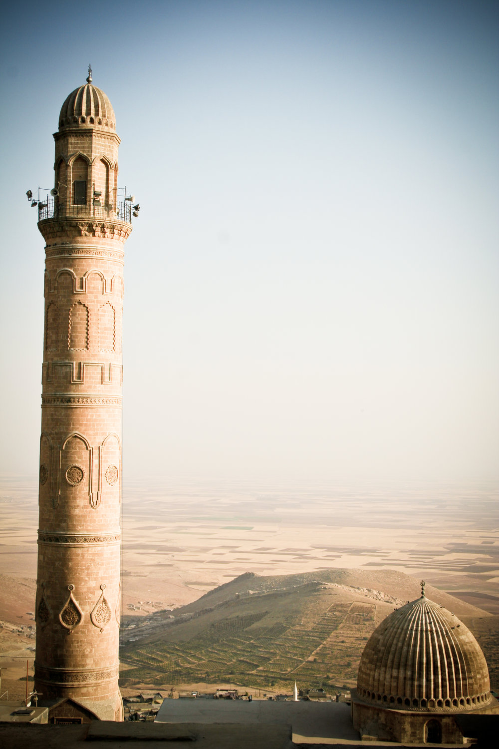 This is Mardin, a labyrinthine city of ancient charms and one of Ann's absolute favorite places on Earth. You can just see over the dusty horizon into Iraq, which is sadly now a war zone.