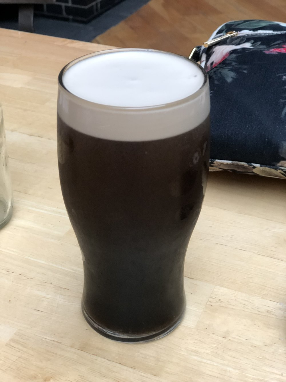 I will admit I am not usually a huge fan of Guinness. It's my Irish sin, I know. I LOVED this pint. It tasted great paired with dinner.