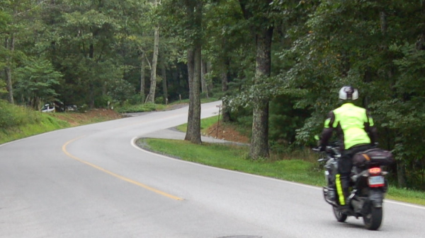 The use of motorcycles on Wintergreen mountain is restricted. Details  here .