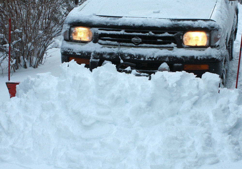 WPOA maintains this  list of snowplow services .     More on being prepared for winter storms  here