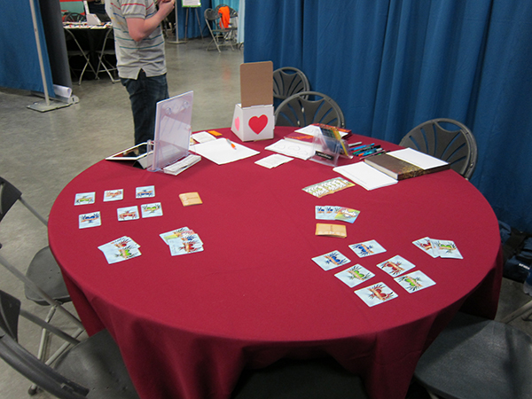 Showing Heartcatchers at Boston FIG.